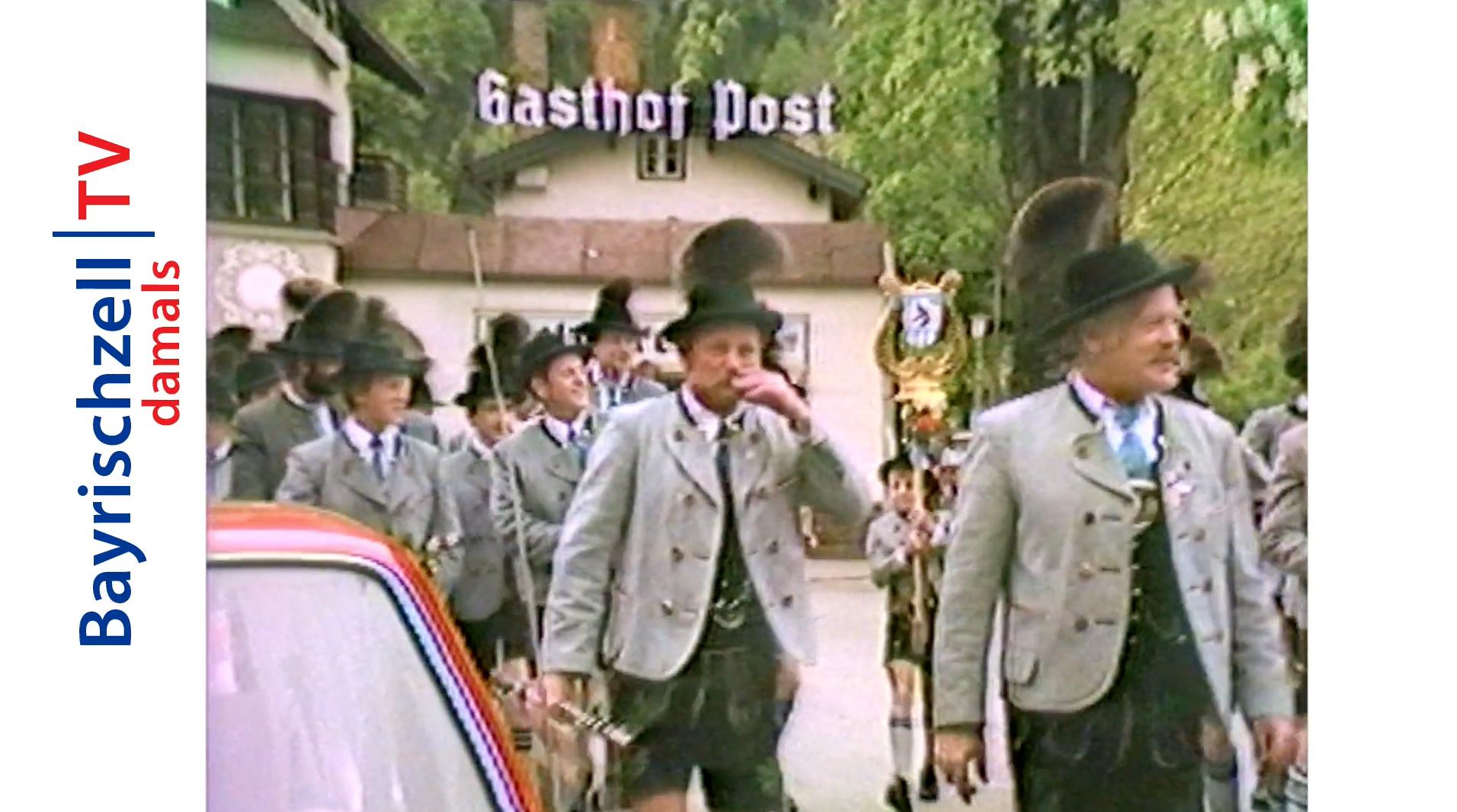 100 Jahre Trachtenverein Bayrischzell