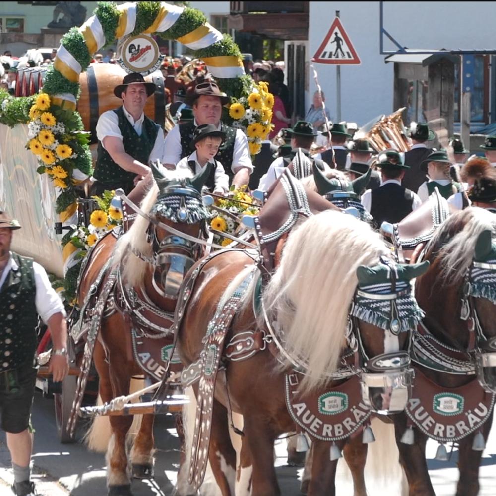 150 Jahre Musikkapelle Bayrischzell - Festumzug