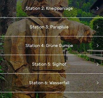 Neu in der App: der Wendelstein-Männlein-Weg