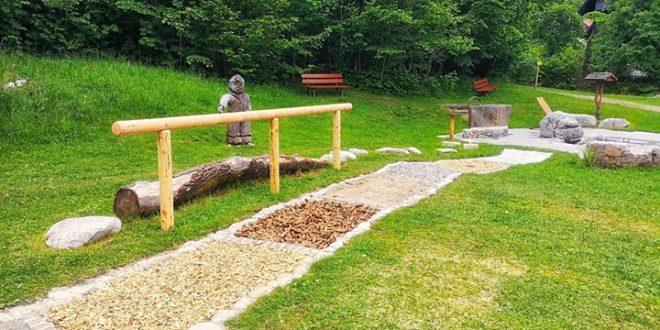 Neu: Barfußpfad am Kneipp-Park